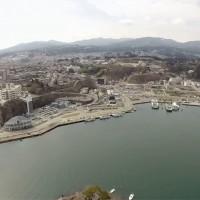 マルチコプター空撮気仙沼
